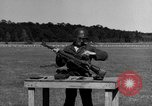 Image of Sniper rifle Fort Benning Georgia USA, 1953, second 25 stock footage video 65675043561