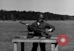 Image of Sniper rifle Fort Benning Georgia USA, 1953, second 28 stock footage video 65675043561