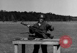 Image of Sniper rifle Fort Benning Georgia USA, 1953, second 32 stock footage video 65675043561