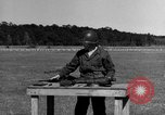 Image of Sniper rifle Fort Benning Georgia USA, 1953, second 52 stock footage video 65675043561