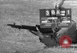 Image of Sniper rifle Fort Benning Georgia USA, 1953, second 2 stock footage video 65675043562