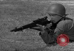 Image of Sniper rifle Fort Benning Georgia USA, 1953, second 14 stock footage video 65675043562