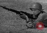 Image of Sniper rifle Fort Benning Georgia USA, 1953, second 39 stock footage video 65675043562