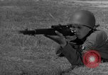 Image of Sniper rifle Fort Benning Georgia USA, 1953, second 60 stock footage video 65675043562