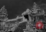 Image of Temple Angkor-Vat Cambodia, 1957, second 8 stock footage video 65675043589