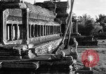 Image of Temple Angkor-Vat Cambodia, 1957, second 21 stock footage video 65675043589