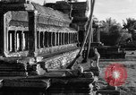 Image of Temple Angkor-Vat Cambodia, 1957, second 24 stock footage video 65675043589