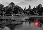 Image of Temple Angkor-Vat Cambodia, 1957, second 49 stock footage video 65675043589