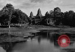 Image of Temple Angkor-Vat Cambodia, 1957, second 50 stock footage video 65675043589