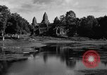 Image of Temple Angkor-Vat Cambodia, 1957, second 51 stock footage video 65675043589