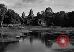 Image of Temple Angkor-Vat Cambodia, 1957, second 52 stock footage video 65675043589