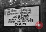 Image of Baray Occidental Irrigation Project Dam Angkor-Vat Cambodia, 1957, second 24 stock footage video 65675043591