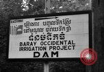 Image of Baray Occidental Irrigation Project Dam Angkor-Vat Cambodia, 1957, second 27 stock footage video 65675043591