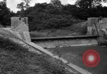 Image of Baray Occidental Irrigation Project Dam Angkor-Vat Cambodia, 1957, second 28 stock footage video 65675043591