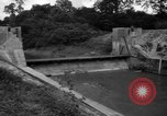 Image of Baray Occidental Irrigation Project Dam Angkor-Vat Cambodia, 1957, second 31 stock footage video 65675043591