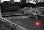 Image of Baray Occidental Irrigation Project Dam Angkor-Vat Cambodia, 1957, second 32 stock footage video 65675043591