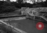 Image of Baray Occidental Irrigation Project Dam Angkor-Vat Cambodia, 1957, second 34 stock footage video 65675043591