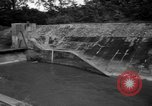 Image of Baray Occidental Irrigation Project Dam Angkor-Vat Cambodia, 1957, second 40 stock footage video 65675043591