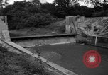 Image of Baray Occidental Irrigation Project Dam Angkor-Vat Cambodia, 1957, second 44 stock footage video 65675043591