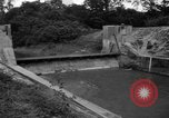 Image of Baray Occidental Irrigation Project Dam Angkor-Vat Cambodia, 1957, second 45 stock footage video 65675043591