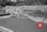 Image of Baray Occidental Irrigation Project Dam Angkor-Vat Cambodia, 1957, second 46 stock footage video 65675043591