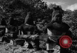 Image of Baray Occidental Irrigation Project Dam Angkor-Vat Cambodia, 1957, second 59 stock footage video 65675043591