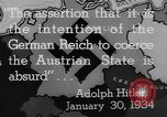 Image of German annexation of Sudetenland Germany, 1938, second 56 stock footage video 65675043609