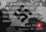 Image of German annexation of Sudetenland Germany, 1938, second 59 stock footage video 65675043609