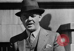 Image of isolationists in United States before World War 2 United States USA, 1938, second 47 stock footage video 65675043616