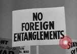 Image of isolationists in United States before World War 2 United States USA, 1938, second 58 stock footage video 65675043616
