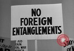 Image of isolationists in United States before World War 2 United States USA, 1938, second 59 stock footage video 65675043616