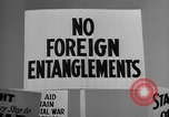 Image of isolationists in United States before World War 2 United States USA, 1938, second 60 stock footage video 65675043616