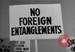 Image of isolationists in United States before World War 2 United States USA, 1938, second 61 stock footage video 65675043616