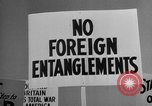 Image of isolationists in United States before World War 2 United States USA, 1938, second 62 stock footage video 65675043616
