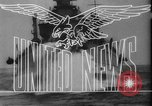 Image of navy carrier plane South China Sea, 1945, second 25 stock footage video 65675046518