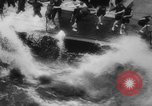 Image of navy carrier plane South China Sea, 1945, second 56 stock footage video 65675046518