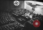 Image of Adolf Hitler predicts annihilation of the Jews in Europe Berlin Germany, 1939, second 50 stock footage video 65675047339