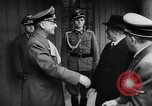 Image of Benito Mussolini Germany, 1943, second 45 stock footage video 65675047365