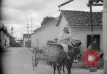 Image of Mules for transportation Caracas Venezuela, 1940, second 18 stock footage video 65675050640