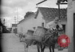 Image of Mules for transportation Caracas Venezuela, 1940, second 20 stock footage video 65675050640