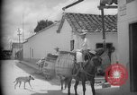 Image of Mules for transportation Caracas Venezuela, 1940, second 40 stock footage video 65675050640
