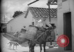 Image of Mules for transportation Caracas Venezuela, 1940, second 41 stock footage video 65675050640