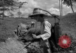 Image of man with container on his back Caracas Venezuela, 1940, second 23 stock footage video 65675050648