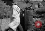 Image of man with container on his back Caracas Venezuela, 1940, second 26 stock footage video 65675050648
