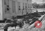 Image of man with container on his back Caracas Venezuela, 1940, second 32 stock footage video 65675050648