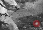 Image of man with container on his back Caracas Venezuela, 1940, second 38 stock footage video 65675050648