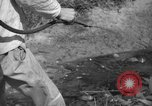 Image of man with container on his back Caracas Venezuela, 1940, second 39 stock footage video 65675050648