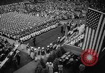 Image of graduation ceremony United States USA, 1963, second 61 stock footage video 65675050667