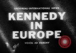 Image of President Kennedy Germany, 1963, second 3 stock footage video 65675050674