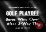 Image of United States Open Championship Massachusetts United States USA, 1963, second 4 stock footage video 65675050675